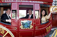 Wells Fargo Antique Stage Coach
